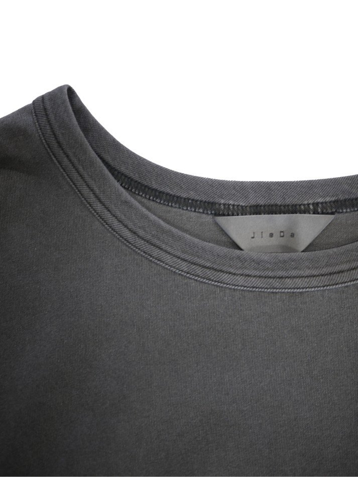 JieDa<br />PIGMENT OVER BIG T-SHIRT FRUIT OF THE LOOM / BLACK <img class='new_mark_img2' src='https://img.shop-pro.jp/img/new/icons14.gif' style='border:none;display:inline;margin:0px;padding:0px;width:auto;' />