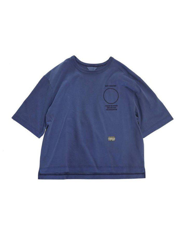 JieDa<br />PIGMENT NOT ENOUGH TEE / NAVY <img class='new_mark_img2' src='https://img.shop-pro.jp/img/new/icons14.gif' style='border:none;display:inline;margin:0px;padding:0px;width:auto;' />