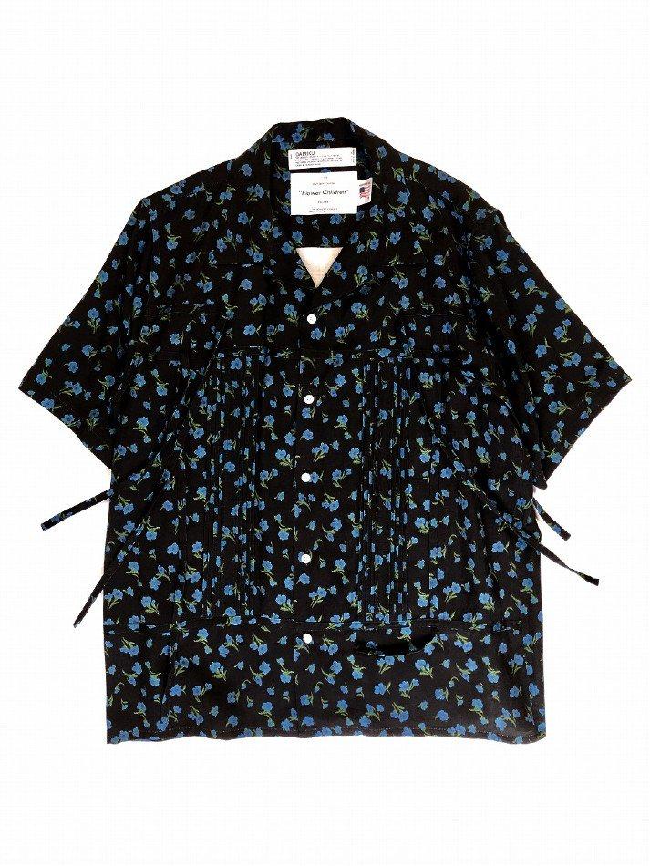 DAIRIKU<br />Wyatt Open Collar Shirt / Night <img class='new_mark_img2' src='https://img.shop-pro.jp/img/new/icons14.gif' style='border:none;display:inline;margin:0px;padding:0px;width:auto;' />