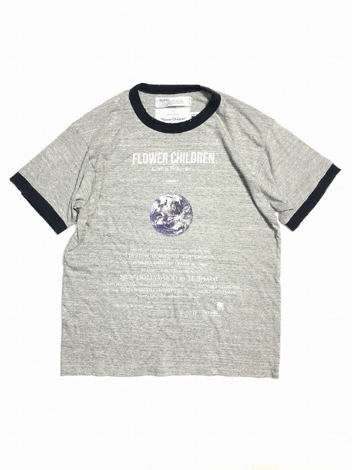 DAIRIKU<br />Earth Thrift Trim Tee / Concrete <img class='new_mark_img2' src='https://img.shop-pro.jp/img/new/icons14.gif' style='border:none;display:inline;margin:0px;padding:0px;width:auto;' />