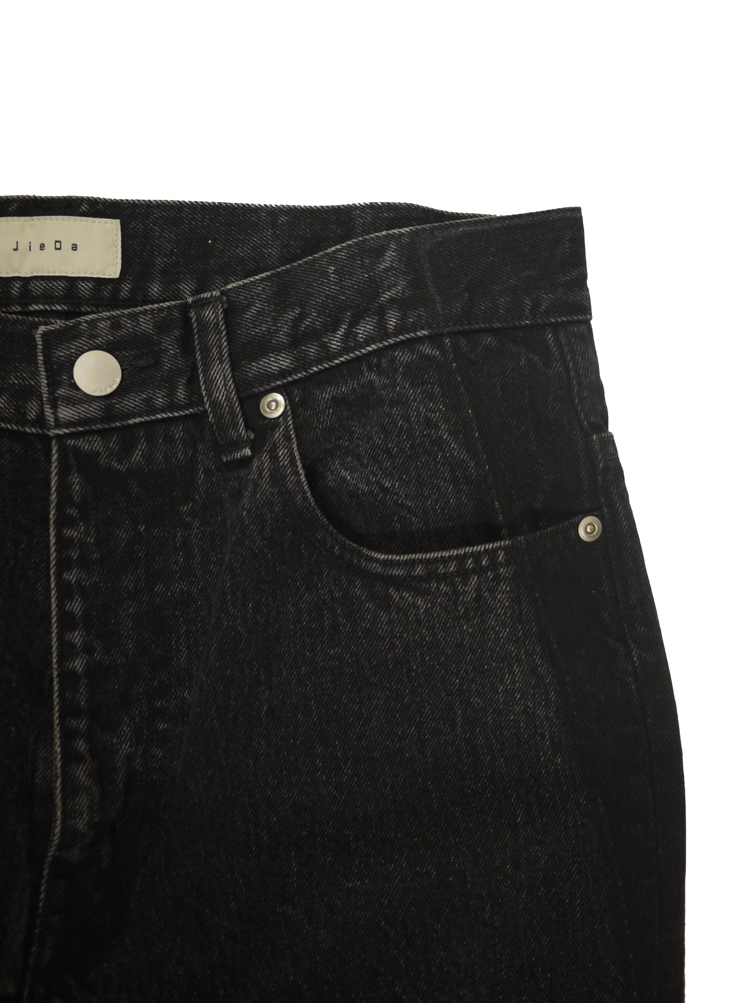JieDa<br />USED FLARE DENIM PANTS / BLACK<img class='new_mark_img2' src='https://img.shop-pro.jp/img/new/icons14.gif' style='border:none;display:inline;margin:0px;padding:0px;width:auto;' />
