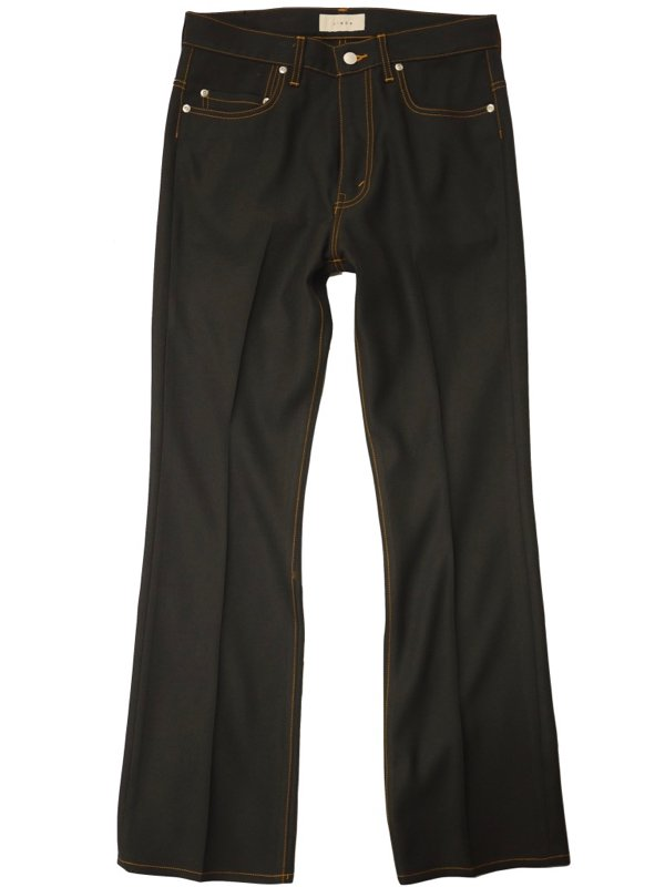 JieDa<br />FLARE PANTS / BLACK<img class='new_mark_img2' src='https://img.shop-pro.jp/img/new/icons14.gif' style='border:none;display:inline;margin:0px;padding:0px;width:auto;' />