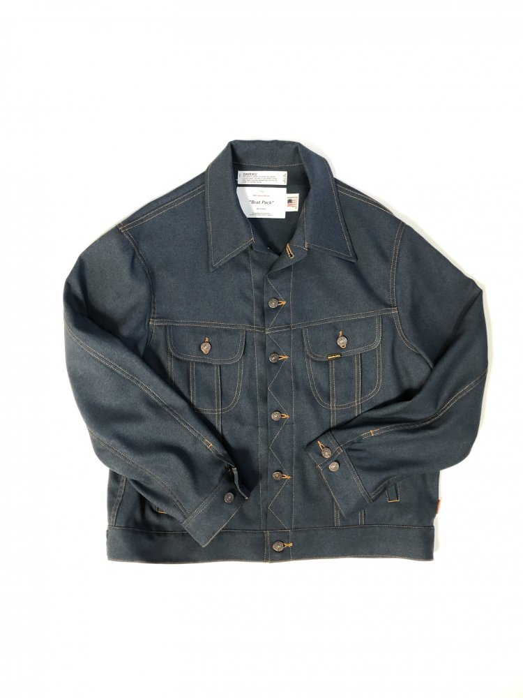 DAIRIKU<br />Johnny Polyester Jacket / Navy<img class='new_mark_img2' src='https://img.shop-pro.jp/img/new/icons47.gif' style='border:none;display:inline;margin:0px;padding:0px;width:auto;' />