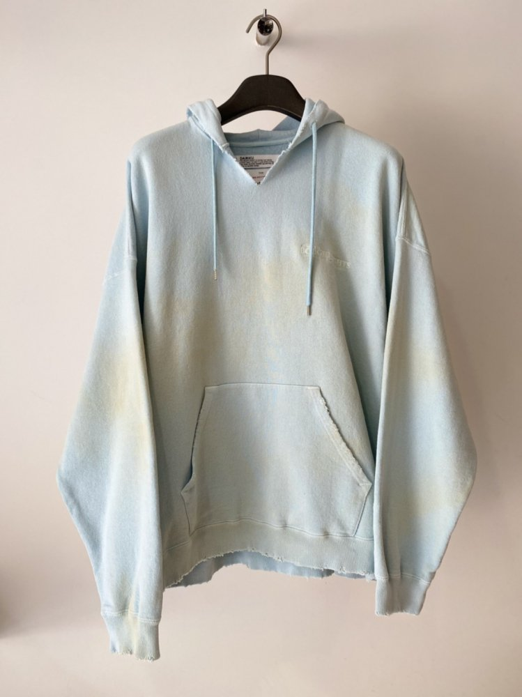 DAIRIKU<br />Ponyboy Cut off Hoodie / Youth Blue <img class='new_mark_img2' src='https://img.shop-pro.jp/img/new/icons14.gif' style='border:none;display:inline;margin:0px;padding:0px;width:auto;' />