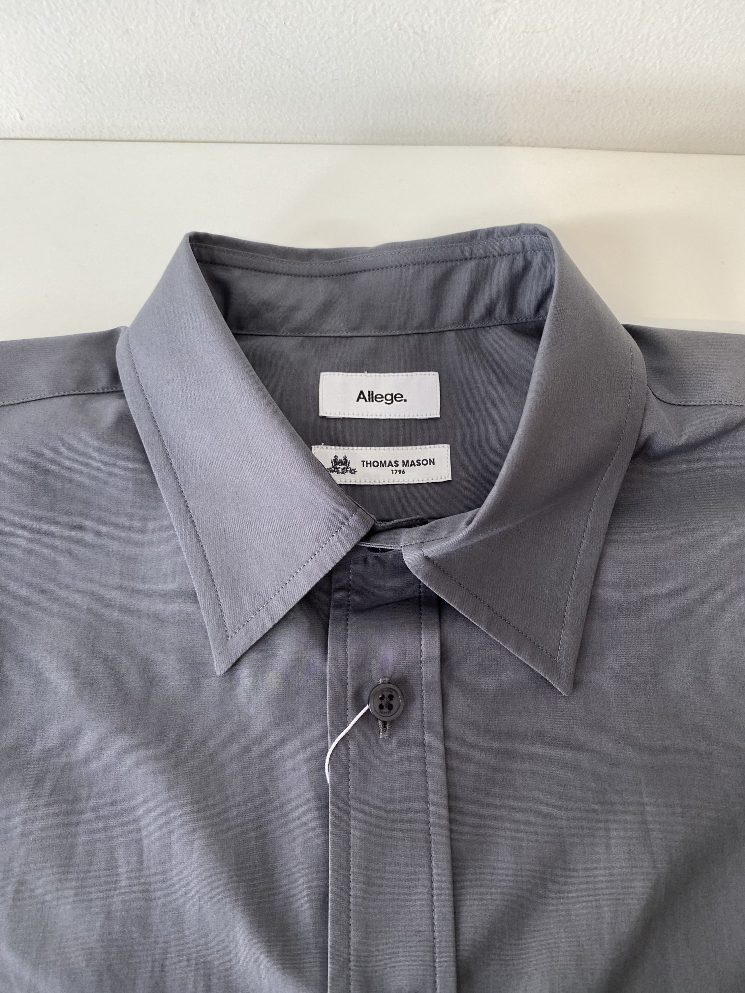 ALLEGE<br />Standard Shirt / GRAY<img class='new_mark_img2' src='https://img.shop-pro.jp/img/new/icons14.gif' style='border:none;display:inline;margin:0px;padding:0px;width:auto;' />