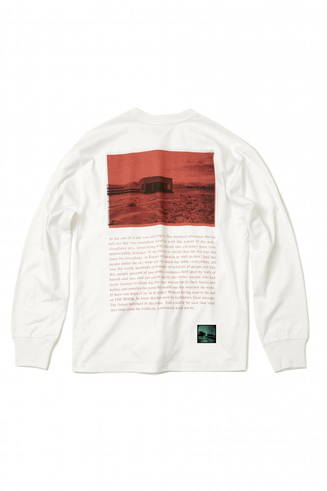 soe<br />L/S Tee Kangal Photographs by Yu Inohara 1 / WHITE<img class='new_mark_img2' src='https://img.shop-pro.jp/img/new/icons47.gif' style='border:none;display:inline;margin:0px;padding:0px;width:auto;' />