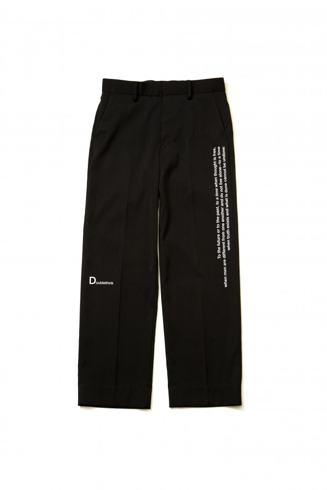 soe<br />Relaxed Fit Trousers NINETEEN EIGHTY-FOUR<img class='new_mark_img2' src='https://img.shop-pro.jp/img/new/icons14.gif' style='border:none;display:inline;margin:0px;padding:0px;width:auto;' />