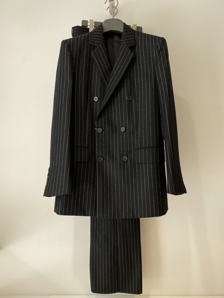 LITTLEBIG<br />6B Double Breasted Jacket & Tucked FlareTrousers SET / Black<img class='new_mark_img2' src='https://img.shop-pro.jp/img/new/icons47.gif' style='border:none;display:inline;margin:0px;padding:0px;width:auto;' />