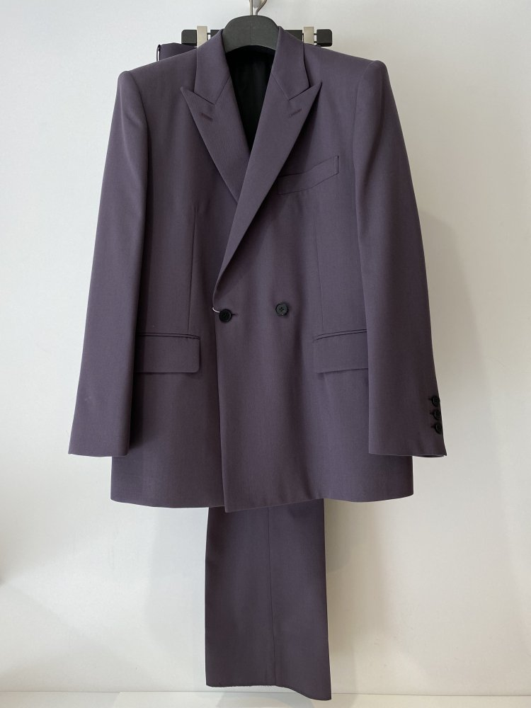LITTLEBIG<br />2B Double Breasted Jacket & Tucked Flare Trousers SET / Purple<img class='new_mark_img2' src='https://img.shop-pro.jp/img/new/icons47.gif' style='border:none;display:inline;margin:0px;padding:0px;width:auto;' />