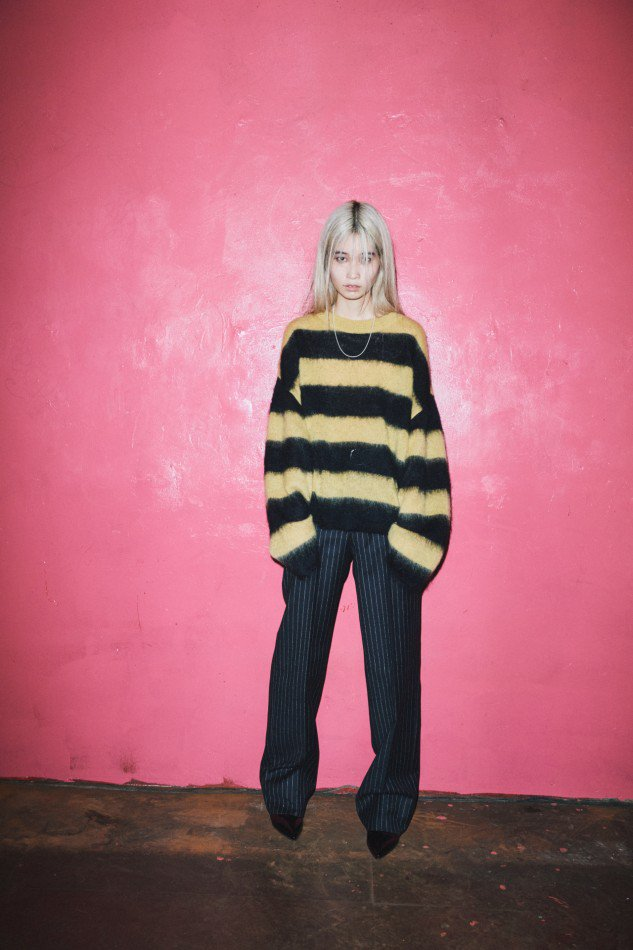 LITTLEBIG<br />Mohair Knit / Yellow<img class='new_mark_img2' src='https://img.shop-pro.jp/img/new/icons47.gif' style='border:none;display:inline;margin:0px;padding:0px;width:auto;' />