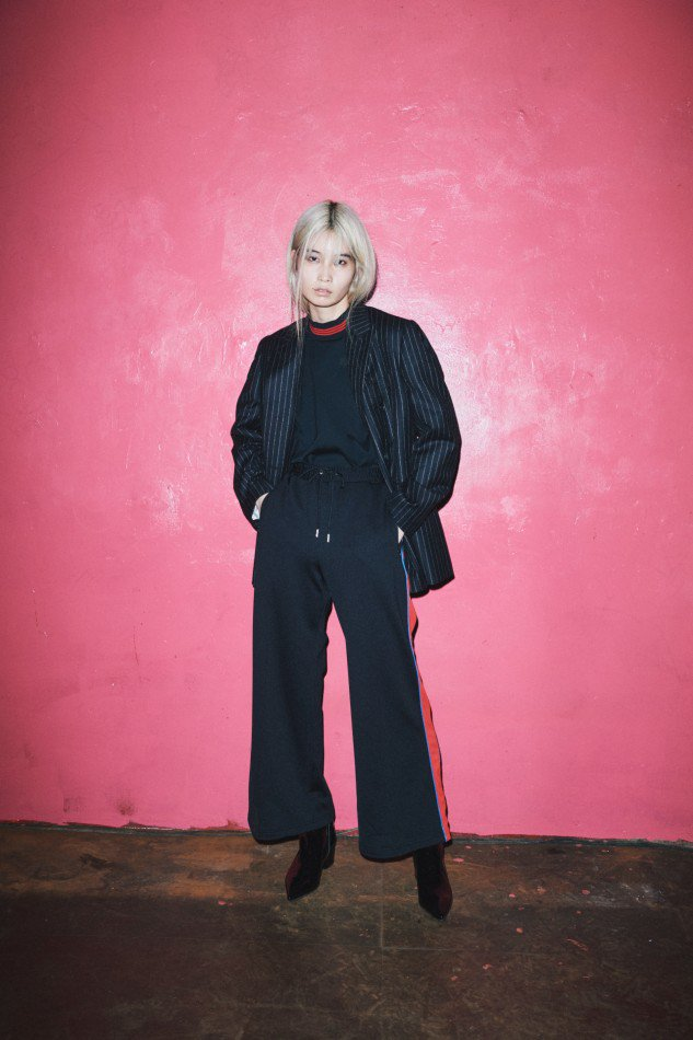 LITTLEBIG<br />Track Pants / Black<img class='new_mark_img2' src='https://img.shop-pro.jp/img/new/icons14.gif' style='border:none;display:inline;margin:0px;padding:0px;width:auto;' />