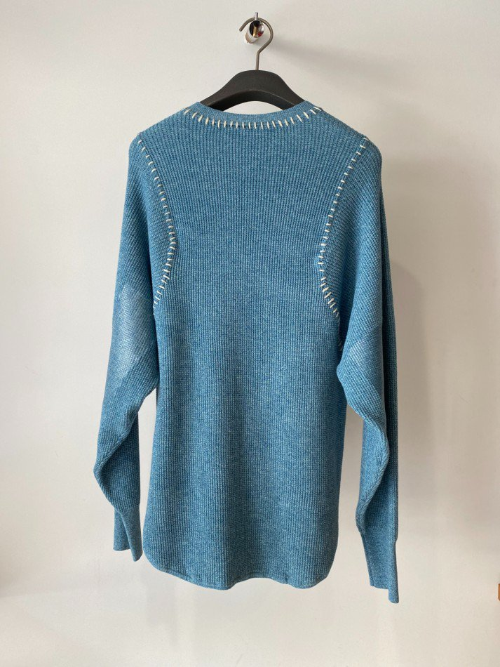 soduk<br />thermal knit pullover / blue<img class='new_mark_img2' src='https://img.shop-pro.jp/img/new/icons14.gif' style='border:none;display:inline;margin:0px;padding:0px;width:auto;' />