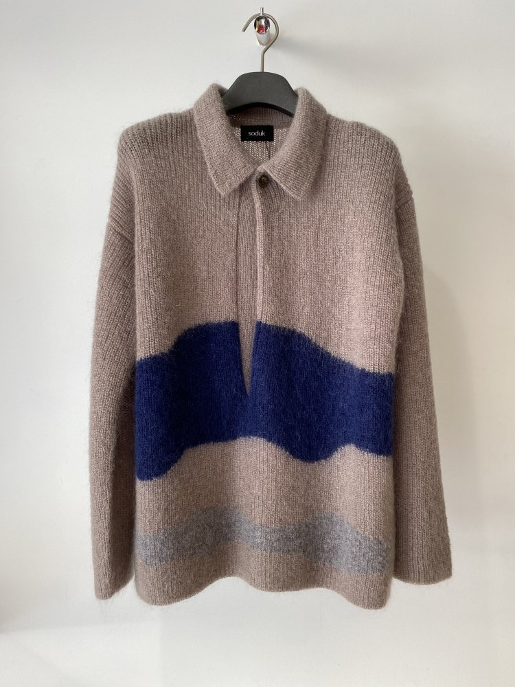soduk<br />drawing knit / brown<img class='new_mark_img2' src='https://img.shop-pro.jp/img/new/icons14.gif' style='border:none;display:inline;margin:0px;padding:0px;width:auto;' />