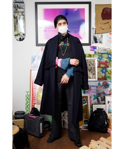 kudos<br />BELT TWISTED COAT / NAVY<img class='new_mark_img2' src='https://img.shop-pro.jp/img/new/icons14.gif' style='border:none;display:inline;margin:0px;padding:0px;width:auto;' />