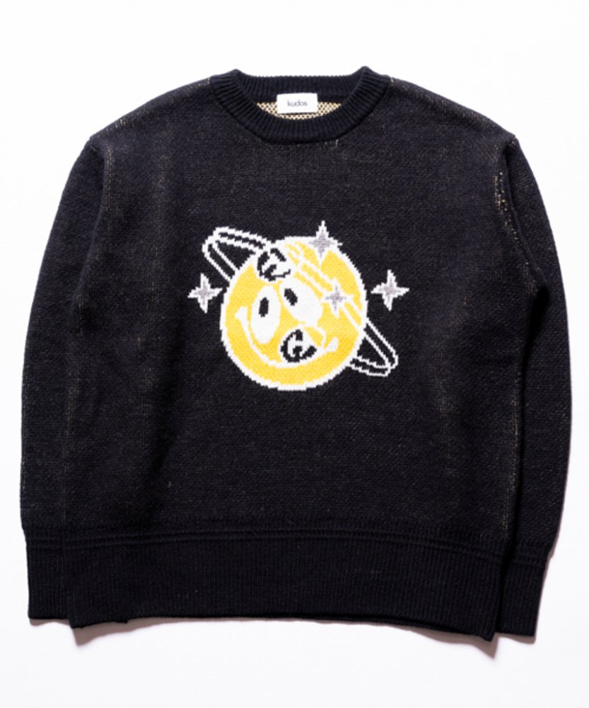 kudos<br />NUTS! PULLOVER / BLACK<img class='new_mark_img2' src='https://img.shop-pro.jp/img/new/icons60.gif' style='border:none;display:inline;margin:0px;padding:0px;width:auto;' />