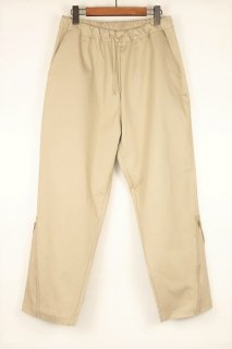 PIQUE TAPERED PANTS / BEIGE