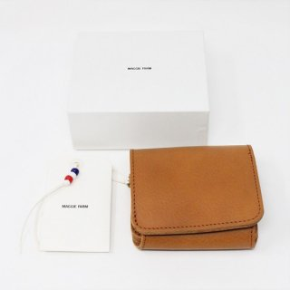 HALF TEEPEE WALLET / BROWN