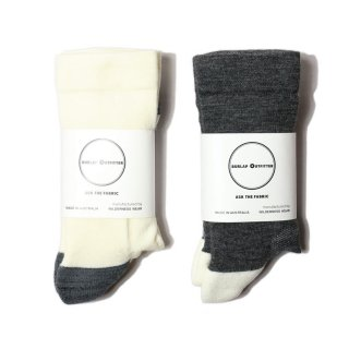 ×WILDERNESS WEAR 【ウィルダネスウェア】 COLOR BLOCK MERINO SOCKS