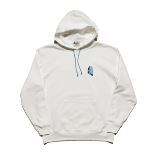 The world in the window hoodie / white
