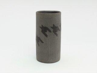シマムラヒカリ 象嵌筒形カップ