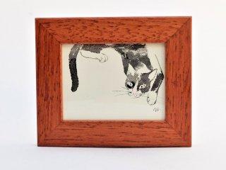 イシバシミキコ 額絵『ホソナガ』97×117mm