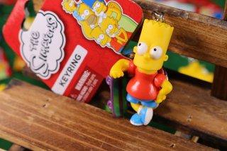 シンプソンズPVCキーリング バード スケボー 輸入雑貨/海外雑貨/直輸入/アメリカ雑貨/イギリス雑貨/文房具/おもちゃ/キーリング/キーホルダー/シンプソンズ/Simpsons/PVC/バード