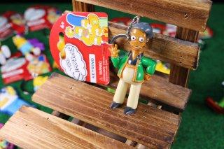 シンプソンズPVCキーリング アブー 輸入雑貨/海外雑貨/直輸入/アメリカ雑貨/イギリス雑貨/文房具/おもちゃ/キーリング/キーホルダー/シンプソンズ/Simpsons/PVC/アブー