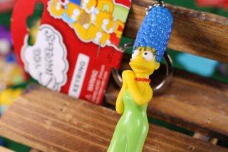 シンプソンズPVCキーリング マージ 輸入雑貨/海外雑貨/直輸入/アメリカ雑貨/イギリス雑貨/文房具/おもちゃ/キーリング/キーホルダー/シンプソンズ/Simpsons/PVC/マージ