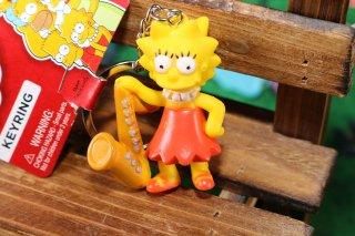 シンプソンズPVCキーリング リサ サックス 輸入雑貨/海外雑貨/直輸入/アメリカ雑貨/イギリス雑貨/文房具/おもちゃ/キーリング/キーホルダー/シンプソンズ/Simpsons/PVC/リサ サックス