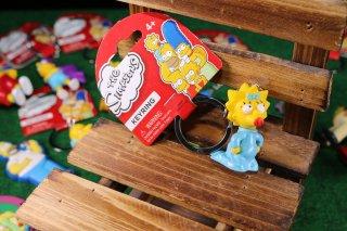 シンプソンズPVCキーリング マギースタンド 輸入雑貨/海外雑貨/直輸入/アメリカ雑貨/イギリス雑貨/文房具/おもちゃ/キーリング/キーホルダー/シンプソンズ/Simpsons/PVC/マギースタンド