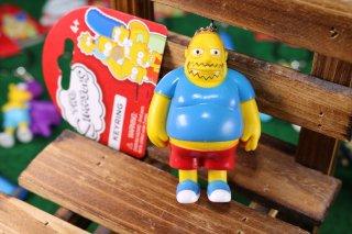 シンプソンズPVCキーリング コミックブックガイ 輸入雑貨/海外雑貨/直輸入/アメリカ雑貨/イギリス雑貨/文房具/おもちゃ/キーリング/キーホルダー/シンプソンズ/Simpsons/PVC