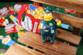 シンプソンズPVCキーリング ウィガム 輸入雑貨/海外雑貨/直輸入/アメリカ雑貨/イギリス雑貨/文房具/おもちゃ/キーリング/キーホルダー/シンプソンズ/Simpsons/PVC/ウィガム