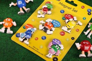 m&m's エムアンドエムズ マグネットセット  輸入雑貨/海外雑貨/直輸入/アメリカ雑貨/イギリス雑貨/おもちゃ/m&m's/エムアンドエムズ/えむあんどえむず/マグネット/magnet