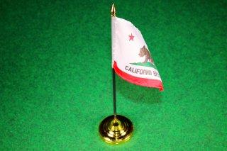 卓上フラッグ ホルダー付 CALIFORNIA カリフォルニア 輸入雑貨/海外雑貨/直輸入/アメリカ雑貨/イギリス雑貨/アメ雑/フラッグ/国旗
