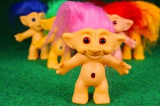 トロール ピンク  輸入雑貨/海外雑貨/直輸入/アメリカ雑貨/イギリス雑貨/おもちゃ/フィギュア/トロール/ノルウェー/幸せを呼ぶ
