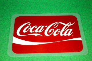 コカコーラ ランチョンマット 1  輸入雑貨/海外雑貨/直輸入/アメリカ雑貨/イギリス雑貨/アメ雑/cocacola/PLASTIC/食卓/テーブル