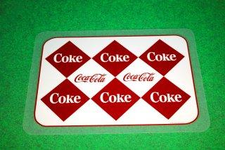 コカコーラ ランチョンマット 2  輸入雑貨/海外雑貨/直輸入/アメリカ雑貨/イギリス雑貨/アメ雑/cocacola/PLASTIC/食卓/テーブル