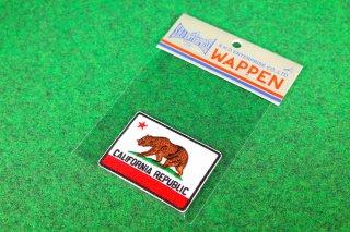 ワッペン カリフォルニアリパブリック 輸入雑貨/海外雑貨/直輸入/アメリカ雑貨/イギリス雑貨/文房具/おもちゃ/WAPPEN/CALIFORNIA REPUBLIC