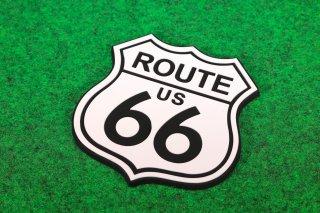 ROUTE66 ルート66 ラバーコースター 輸入雑貨/海外雑貨/直輸入/アメリカ雑貨/イギリス雑貨/文房具/おもちゃ/インテリア/コースター