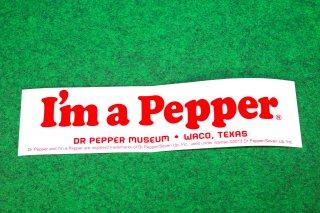 ドクターペッパー バンパーステッカー  輸入雑貨/海外雑貨/直輸入/アメリカ雑貨/イギリス雑貨/アメ雑/コップ/カップ/Dr Pepper/BUMPER STICKER