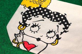 ベティーブープ トートバッグ ベティちゃん フェイス ホワイト 輸入雑貨/海外雑貨/直輸入/アメリカ雑貨/アメ雑/トートバッグ