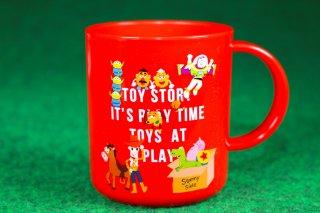 TOYSTORY トイストーリー プラスチック マグカップ レッド 赤 キャラクター 輸入雑貨/海外雑貨/直輸入/アメリカ雑貨/おもちゃ/インテリア/プラカップ/コップ