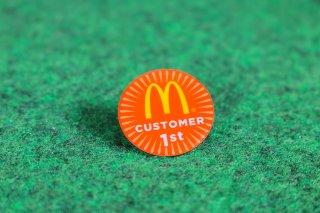 マクドナルド オフィシャル グッズ ピンバッジ LOGO COSTOMER 輸入雑貨/海外雑貨/直輸入/アメリカ雑貨/おもちゃ/McDonald's/