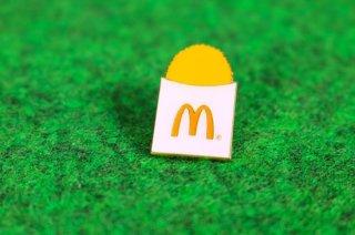 マクドナルド オフィシャル グッズ ピンバッジ LOGO POTATO 輸入雑貨/海外雑貨/直輸入/アメリカ雑貨/おもちゃ/McDonald's/