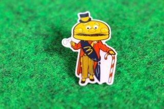 マクドナルド オフィシャル グッズ ピンバッジ メイヤーマックチーズ 輸入雑貨/海外雑貨/直輸入/アメリカ雑貨/おもちゃ/McDonald's/