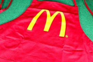 マクドナルド オフィシャル グッズ エプロン レッド 輸入雑貨/海外雑貨/直輸入/アメリカ雑貨/おもちゃ/McDonald's/APLON