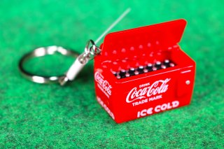 COCA-COLA コカコーラ キーホルダー クーラー 輸入雑貨/海外雑貨/直輸入/アメリカ雑貨/文房具/おもちゃ/coca cola/キーリング