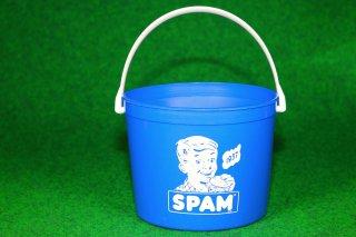 スパム バケツ ブルー BUCKET 64oz  約1.8L 輸入雑貨/海外雑貨/直輸入/アメリカ雑貨/おもちゃ/SPAM