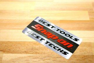 Snap-on DECALS ステッカー  Best Tools Best Techs Decal  輸入雑貨/海外雑貨/直輸入/アメリカ雑貨/イギリス雑貨/文房具/おもちゃ/ステッカー/カー用品