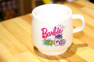 メラミンカップ Barbie バービー人形 ミルキーカップ ポップスウィート  輸入雑貨/海外雑貨/直輸入/アメリカ雑貨/子供/キャラクター/ギャル